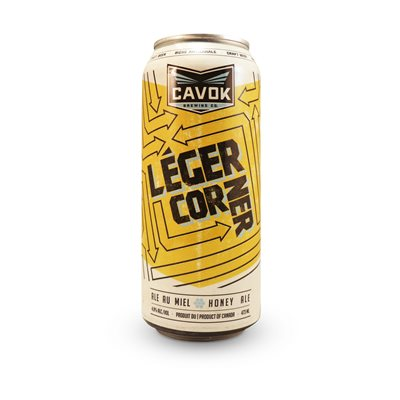 Cavok Brewing Legere Corner Honey Ale 473ml