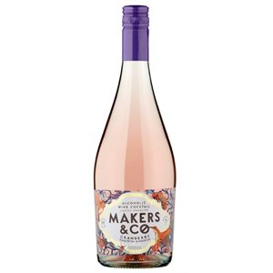 Makers & Co Cranberry Rose Petal & Hibiscus 750ml