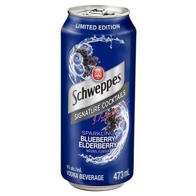 Schweppes Blueberry & Elderberry Cocktail 473ml