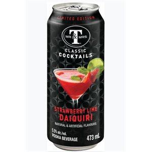 Mr & Mrs T's Strawberry Lime Daiquiri 473ml