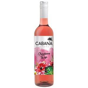 Cabana Shore Strawberry Rose 750ml