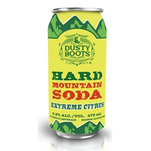 Dusty Boots Hard Mountain Soda 473ml