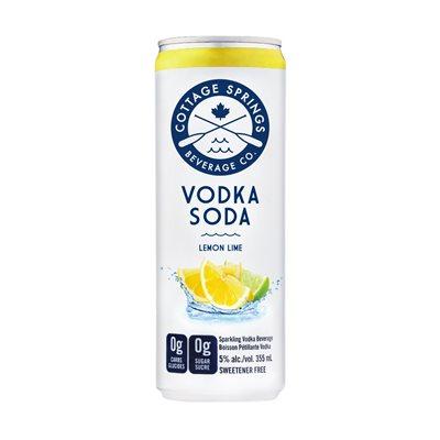 Cottage Springs Lemon Lime 355ml