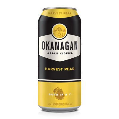 Okanagan Premium Cider Harvest Pear 473ml