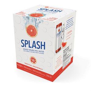 Splash Tropical Grapefruit 4 C
