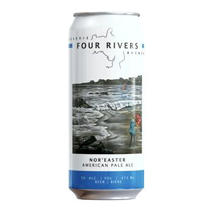Four Rivers Noreaster Pale Ale 473ml