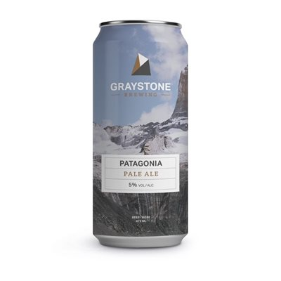Graystone Brewing Patagonia Pale Ale 473ml