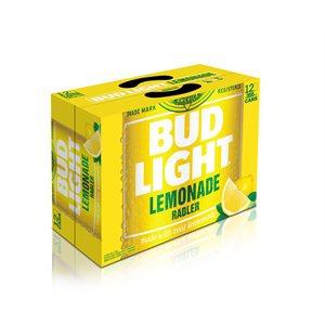 Bud Light Lemon Radler 12 C