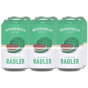 Moosehead Radler Watermelon 6 C