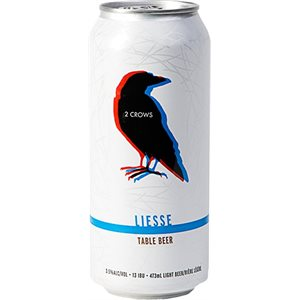 2 Crows Brewing Liesse Table Beer 473ml