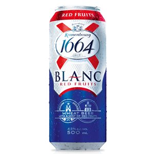 Kronenbourg 1664 Blanc Fruits Rouge 500ml