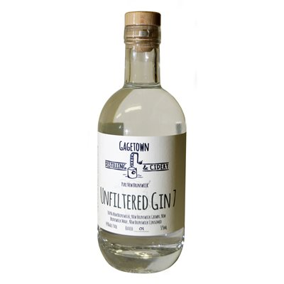 Gagetown Distilling & Cidery Unfiltered Gin 7 375ml