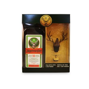 Jagermeister Gift Pack With Stag Pourer 750ml