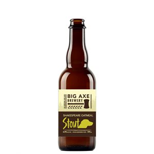 Big Axe Shakespeare Oatmeal Stout 375ml