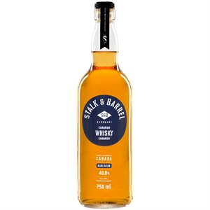 Stalk & Barrel Canadian Whisky Blue Blend 750ml