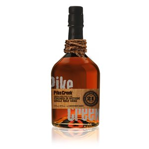 Pike Creek European Oak Finished 21 YO 750ml