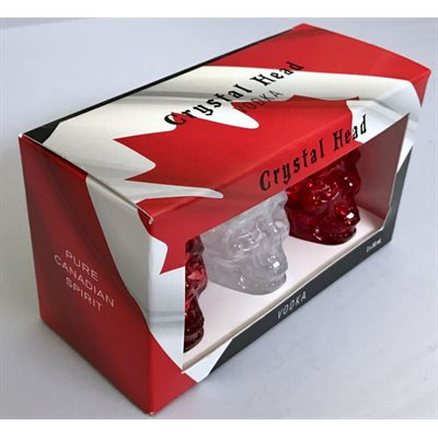 Crystal Head Vodka Canadian Spirit 3 x 50ml