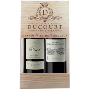 Bordeaux 2015 Gold Gift Pack 2 x 750ml