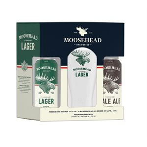 Moosehead Holiday Gift Pack 2 x 473ml