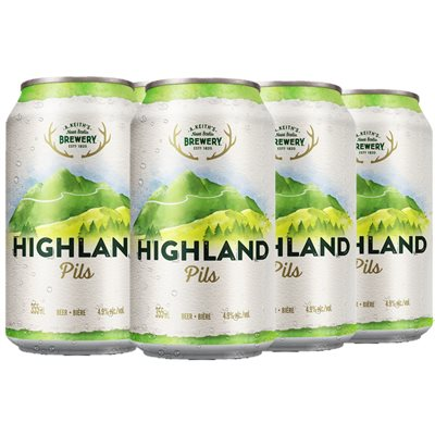 Keiths Highland Pilsner 6 C