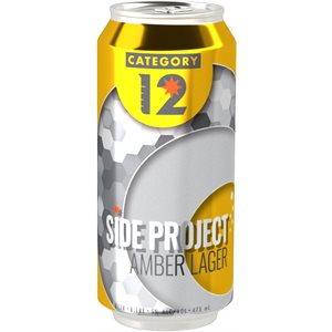 Category 12 Side Project Amber Lager 473ml