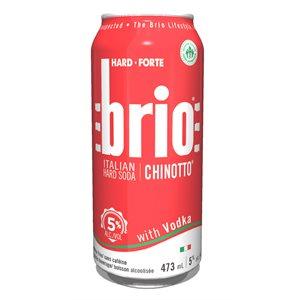 Brio Italian Hard Soda With Vodka 473ml