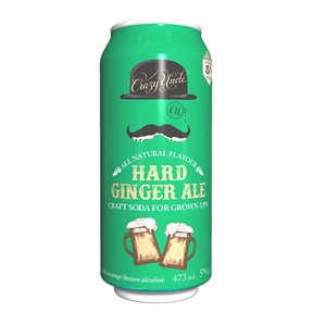 Crazy Uncle Hard Ginger Ale 473ml