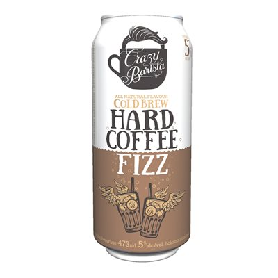 Crazy Barista Cold Brew Hard Coffee Fizz 473ml