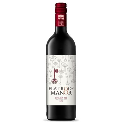 Flat Roof Manor Opulent Red 750ml