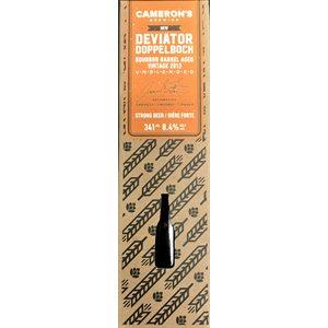 Camerons 2012 Vintage Deviator DoppelBock Bourbon Barrel Aged 341ml