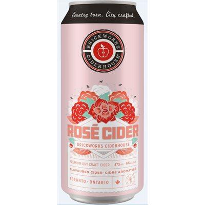 Brickworks Rose Cider 473ml