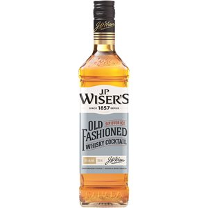 JP Wiser's Old Fashioned Canadian Whisky 750ml