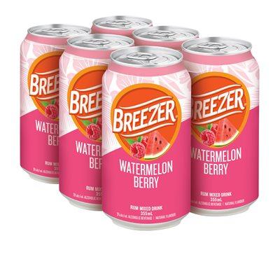 Breezer Watermelon Berry 6 C