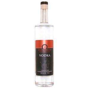 Devils Keep Handcrafted Vodka 750ml