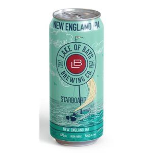 Lake Of Bays Starboard New England IPA 473ml