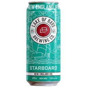 Lake Of Bays Starboard New England IPA 473ml