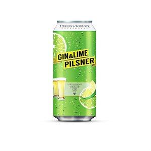 Fuggles & Warlock Gin & Lime Pilsner 473ml