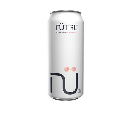 Nutrl Vodka Soda Grapefruit 473ml