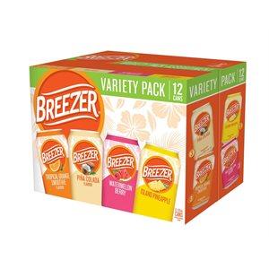 Breezer Variety Pack 12 C