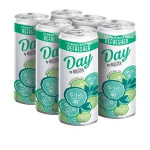 Breezer Day Cucumber White Tea Refresher 6 C