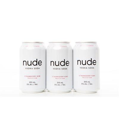 Nude Vodka Strawberry Kiwi 6 C