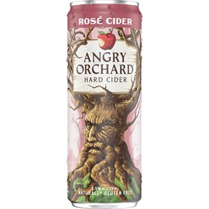 Angry Orchard Rose Slim Can 355ml