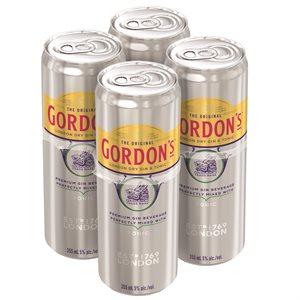 Gordons Gin & Tonic 4 C