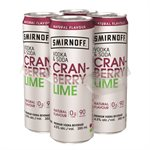 Smirnoff Vodka & Soda Cranberry Lime 4 C