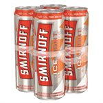 Smirnoff Ice Light Blood Orange & Soda 4 C