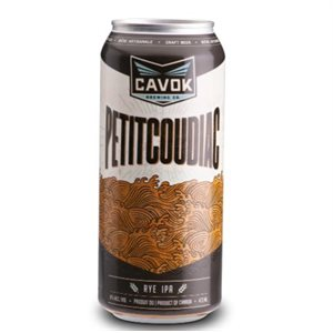 Cavok Brewing Petitcoudiac Rye IPA 473ml
