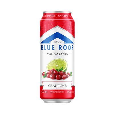 Blue Roof Vodka Soda Cran-Lime 473ml
