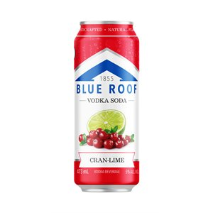 Blue Roof Vodka Soda Cran-Lime 473ml
