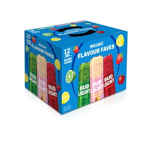 Bud Light Flavour Faves Mixer 12 C