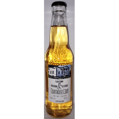 Gagetown Distilling & Cidery Courthouse Cider 355ml